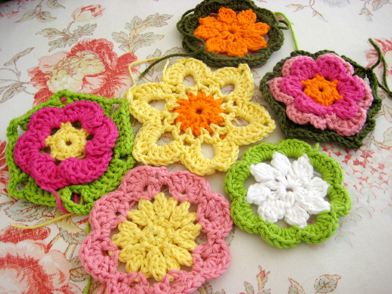 Crochetflowers